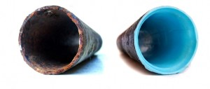 Epoxy Pipe Coating: In-place pipe coating is applied through the inside of plumbing. This is mostly prescribed for a system that has a series of small leaks, rendering the normal slab leak repair cost prohibitive, or if it is too inconvenient to dig up the slab.