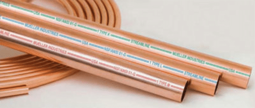 Pex vs copper integrity repipe inc for Pex pipe vs copper