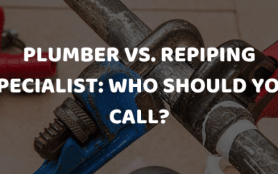 Plumber vs. Repiping Specialist: Who Should You Call?