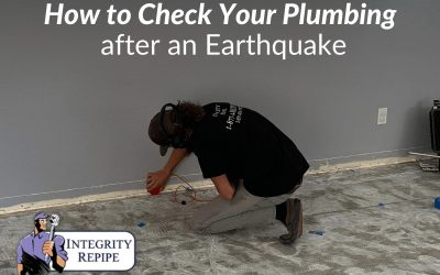 How to Check Your Plumbing after an Earthquake