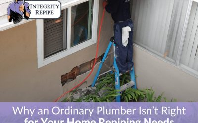 Why an Ordinary Plumber Isn't Right for Your Home Repiping Needs