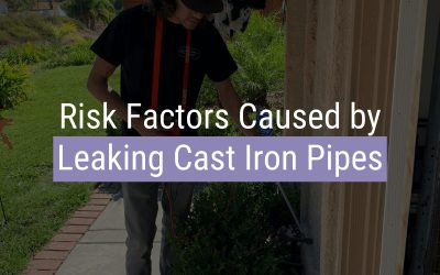 Risk Factors Caused by Leaking Cast Iron Pipes