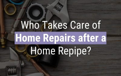 Who Takes Care of Home Repairs after a Home Repipe?