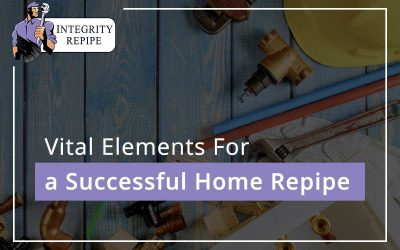 Vital Elements For a Successful Home Repipe