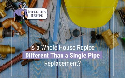 Is a Whole House Repipe Different Than a Single Pipe Replacement?
